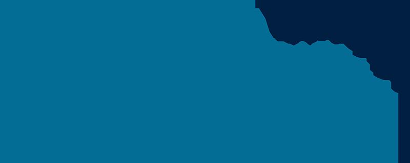 Logo nbz alfsee, bestehend aus vielen kleinen Dreiecken, die einen Vogelschwarm symbolisieren