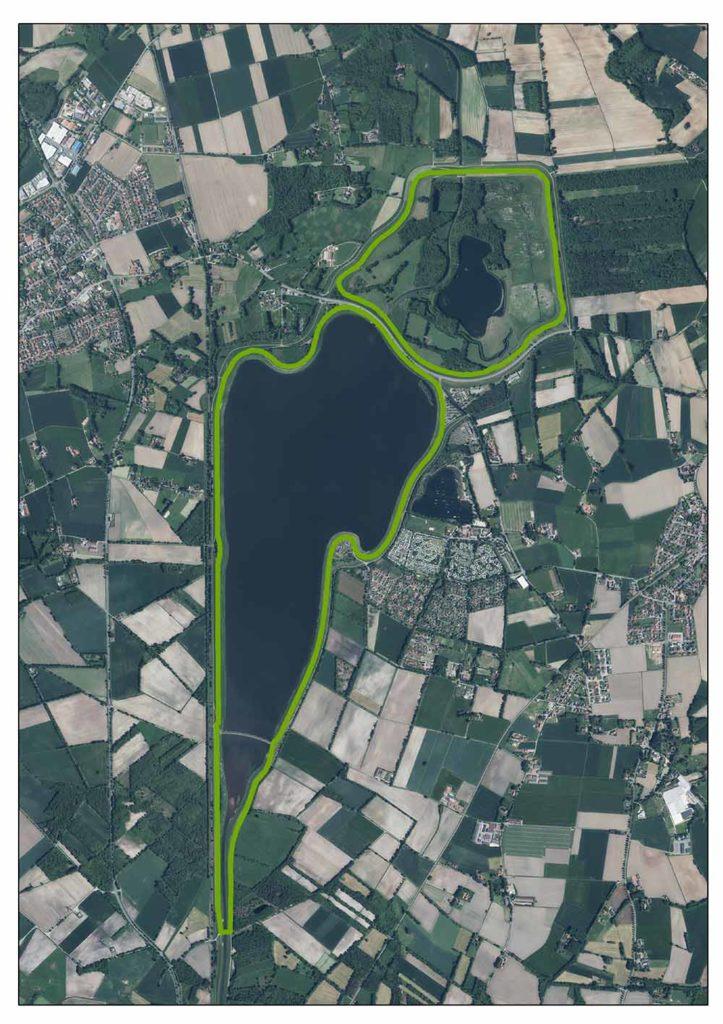 Luftaufnahme Alfsee