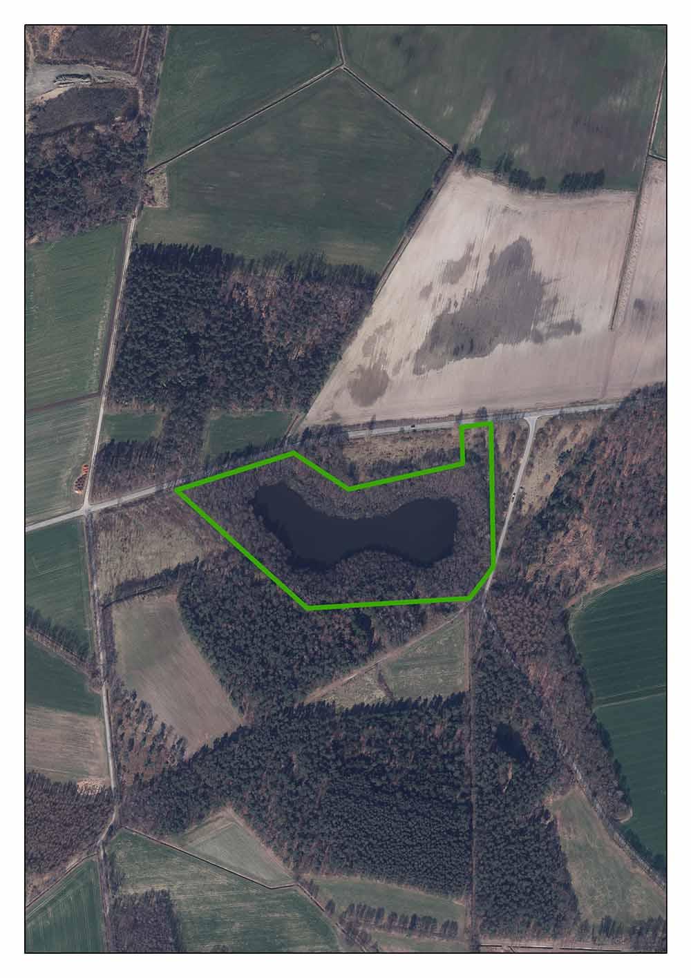 Luftaufnahme Feldungelsee