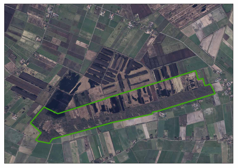 Luftaufnahme Venner Moor